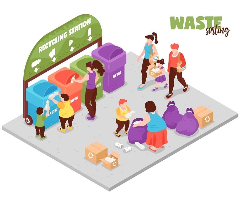 waste-sorting